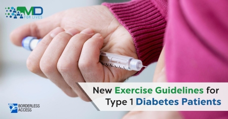 New exercise guidelines for type 1 diabetes patients