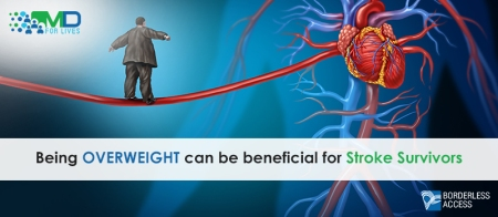 Being overweight can be beneficial for stroke survivors