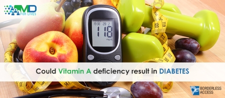 Could Vitamin A deficiency result in Diabetes